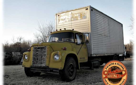 old-moving-truck